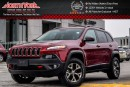 Used 2016 Jeep Cherokee Trailhawk 4x4|Nav|Leather|R.Start|Clean CarProof|17