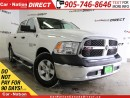 Used 2017 Dodge Ram 1500 SXT| HEMI| CREW CAB| WE WANT YOUR TRADE| for sale in Burlington, ON