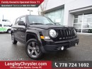 Used 2015 Jeep Patriot Sport/North W/ 4X4, LEATHER & SUNROOF for sale in Surrey, BC