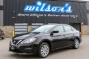 Used 2016 Nissan Sentra S $49/WK, 5.49% ZERO DOWN! BLUETOOTH! KEYLESS ENTRY! STEERING RADIO CONTROLS! POWER PACKAGE! for sale in Guelph, ON