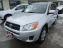 Used 2012 Toyota RAV4 'GREAT VALUE' FUEL EFFICIENT LX MODEL 5 PASSENGER 2.4L - DOHC ENGINE.. CD/AUX/USB INPUT.. KEYLESS ENTRY.. for sale in Bradford, ON