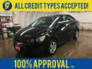 Used 2016 Chevrolet Sonic LT*REMOTE STARTER*PHONE*BACK UP CAMERA*KEYLESS ENTRY*ON STAR*POWER WINDOWS/LOCKS/MIRRORS*AM/FM/XM/CD/AUX/USB/BLUETOOTH*FRONT HEATED SEATS* for sale in Cambridge, ON