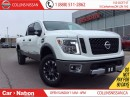 Used 2016 Nissan Titan XD PRO-4X Gas | ALLOYS | NAVI | HTD LEATHER SEATS | for sale in St Catharines, ON
