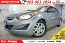 Used 2016 Hyundai Elantra GL| HEATED SEATS| BLUETOOTH| SIRIUS XM| for sale in Mississauga, ON