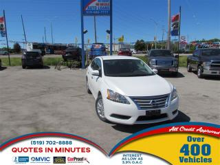 Used 2015 Nissan Sentra 1.8 SV | SPORTY | CLEAN | MUST SEE for sale in London, ON