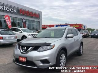 Used 2014 Nissan Rogue S  - Bluetooth -  SiriusXM - $123.71 B/W for sale in Woodstock, ON