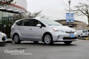 Used 2013 Toyota Prius V Leather Interior, Heated Front Seats, Bluetooth, Back Up Cam, Push Button Start for sale in Richmond, BC
