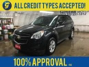 Used 2014 Chevrolet Equinox KEYLESS ENTRY*ON STAR HANDS FREE CALLING*POWER WINDOWS/LOCKS/MIRRORS*POWER DRIVER SEAT*ALLOYS*AM/FM/XM/CD/AUX/USB for sale in Cambridge, ON