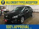 Used 2016 Chevrolet Cruze LT*CHEVY MY LINK*TRACTION CONTROL*BACK UP CAMERA*PHONE CONNECT/VOICE RECOGNITION*KEY-LESS ENTRY*CLIMATE CONTROL*POWER WINDOWS LOCKS AND MIRRORS*CD PLAYER/AM/FM/AUX/USB*BUTTONS FOR CRUISE RADIO VOICE AND HANDS FREE ON STEERING WHEEL* for sale in Cambridge, ON
