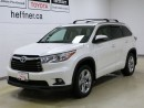 Used 2014 Toyota Highlander LIMITED WITH NAVIGATION for sale in Kitchener, ON