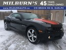 Used 2010 Chevrolet Camaro 2LT for sale in Guelph, ON