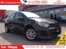 Used 2016 Kia Rio LX | BLUETOOTH | ECO MODE | ONE OWNER ARRIVAL | for sale in Georgetown, ON