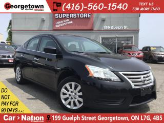 Used 2015 Nissan Sentra 1.8 S | BLUTOOTH | POWER GROUP | 128K | AUTO | A/C for sale in Georgetown, ON
