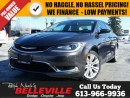 Used 2015 Chrysler 200 Limited-Bluetooth-Remote Start for sale in Belleville, ON
