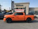 Used 2017 Dodge Ram 1500 IGNITION ORANGE CREW CAB SPORT for sale in Milton, ON