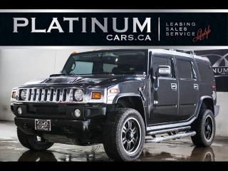 Used 2006 Hummer H2 SUV V8 4WD, LEATHER, HEATED PWR SEATS for sale in North York, ON