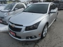 Used 2012 Chevrolet Cruze 'GREAT VALUE' FUEL EFFICIENT RS EDITION 5 PASSENGER 1.4L - TURBO ENGINE.. CD/AUX/USB INPUT.. KEYLESS ENTRY.. for sale in Bradford, ON