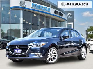 Used 2017 Mazda MAZDA3 GT ONE OWNER| 0.99% FINANCE AVAILABLE| NAVIGATION for sale in Mississauga, ON