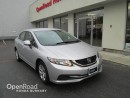 Used 2013 Honda Civic Sdn LX for sale in Burnaby, BC