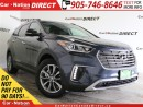 Used 2017 Hyundai Santa Fe XL Premium| 7-PASSENGER| BACK UP CAMERA| AWD| for sale in Burlington, ON