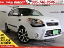 Used 2013 Kia Soul 2.0L 4u| SUNROOF| BACK UP CAMERA| LOCAL TRADE| for sale in Burlington, ON