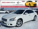 Used 2014 Nissan Maxima 3.5 SV w/all leather,pwr group,heated seats,climate control,rear cam,sunroof,rear spoiler for sale in Cambridge, ON