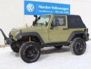 Used 2013 Jeep Wrangler SPORT for sale in Edmonton, AB