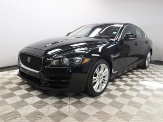 Used 2017 Jaguar XE 2.0L Diesel Premium AWD - 4yr/80000kms manufacturer warranty included until June 29, 2021! Locally Owned and Serviced | Executive Demo | No Accidents | Navigation | Rear Camera | Heated Front Seats | Heated Steering Wheel | Panoramic Sunroof | Heated Wind for sale in Edmonton, AB