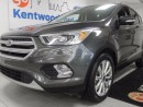 Used 2017 Ford Escape It's a titanium with a back up cam and NAV all within a stunning grey paint job. What more could you ask for? for sale in Edmonton, AB