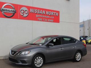 Used 2017 Nissan Sentra SV/PUSH START/BACKUP CAM for sale in Edmonton, AB