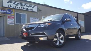Used 2011 Acura MDX SH-AWD-LEATHER-SUNROOF-BACK UP CAMERA-HEATED SEATS for sale in Tilbury, ON