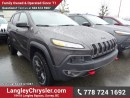New 2017 Jeep Cherokee Trailhawk for sale in Surrey, BC