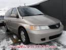 Used 2002 Honda Odyssey WAGON for sale in Calgary, AB