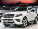 Used 2014 Mercedes-Benz ML 350 AMG|NAVI|360CAM|BLINDSPOT|LOADED|BLUETEC for sale in North York, ON