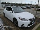 Used 2017 Lexus CT 200h F SPORT SERIES 2 for sale in Richmond, BC