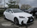 Used 2017 Lexus IS 200t F SPORT SERIES 1 for sale in Richmond, BC