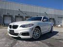 Used 2014 BMW M235i Coupe M Sport Line RV CAM   NAV   HARMON KARDON   for sale in Oakville, ON