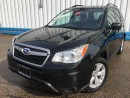 Used 2016 Subaru Forester 2.5i AWD *HEATED SEATS* for sale in Kitchener, ON