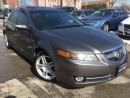 Used 2008 Acura TL w/Nav Pkg_SUNROOF_LEATHER_BACKUP CAMERA for sale in Oakville, ON