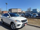 Used 2012 Mercedes-Benz ML-Class ML350BT NAVIGATION PANORAMIC 4MATIC DIESEL for sale in Scarborough, ON