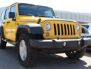 Used 2015 Jeep Wrangler Unlimited POWER OPTIONS, 4X4, HARD TOP! for sale in Edmonton, AB