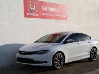 Used 2015 Chrysler 200 S, LEATHER for sale in Edmonton, AB