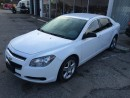 Used 2012 Chevrolet Malibu LS for sale in Alliston, ON