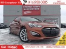 Used 2013 Hyundai Genesis 2.0T LEATHER| ROOF| ALLOYS| HOT COLOUR for sale in Georgetown, ON