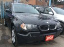Used 2006 BMW X3 2.5i Low KM 160K Panorama Roof Leather Alloys MINT for sale in Scarborough, ON