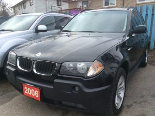 Used 2006 BMW X3 2.5L Low KM 160K Panorama Roof Leather Alloys MINT for sale in Scarborough, ON