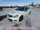 Used 2014 Mercedes-Benz C-CLASS C63AMG 2D COUPE 6.2L for sale in Calgary, AB