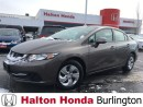 Used 2013 Honda Civic LX | 5SP | ALLOYS | HEATED SEATS | KEYLESS ENTRY for sale in Burlington, ON