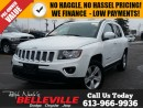 Used 2016 Jeep Compass High Altitude-Sunroof-Remote Start for sale in Belleville, ON