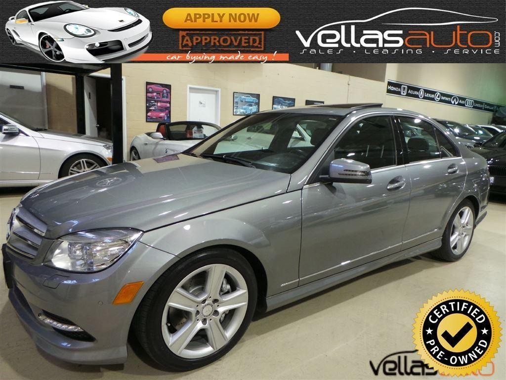 Used 2011 mercedes benz c class c300 4matic navigation for Mercedes benz ontario dealers